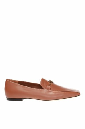 Slip-on shoes with a horsebit od Burberry